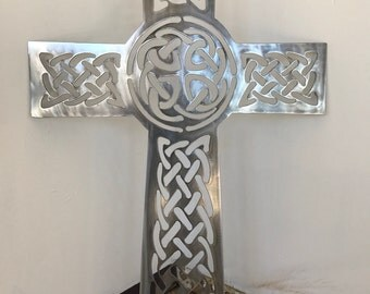 Knotted Celtic Cross