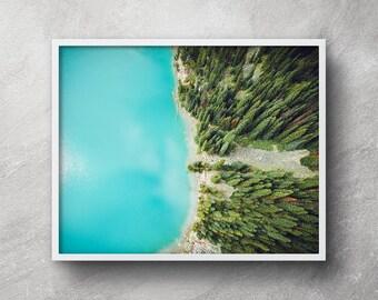 Aerial beach photography, Forest print, Beach print, Beach printable, Beach wall art, Beach artwork, Ocean print, Ocean art, Beach decor