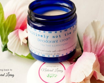 Natural Deodorant Cream, Vegan, All natural