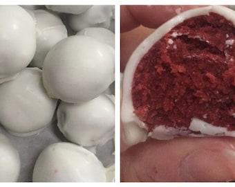10 red velvet Cake balls