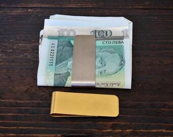 Money Clip, Money holder, Cash Clamp Holder, Stainless Steel Money Clip