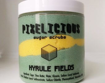 Hyrule Fields Sugar Scrub