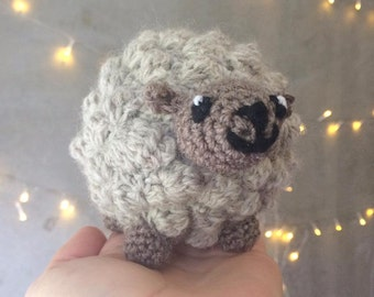 Crochet Sheep 100% New Zealand Wool and NZ handmade