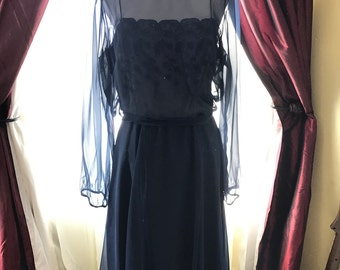 Vintage Miss Elliette Dress