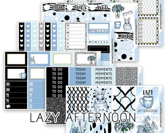 Planner Kit // Lazy Afternoon