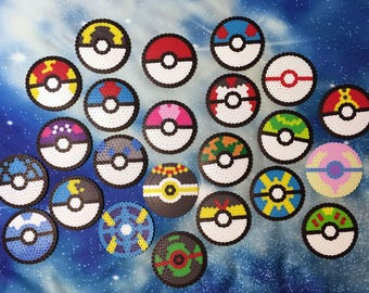 Assorted Large Pokeballs