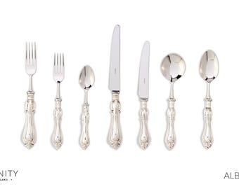 Sterling Silver Dinner Setting - Albert design FREE UK SHIPPING