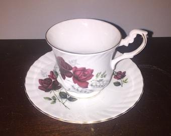 Royal Dover china vintage teacup set