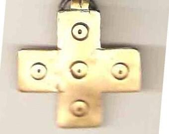 Brass Sheet - Cross