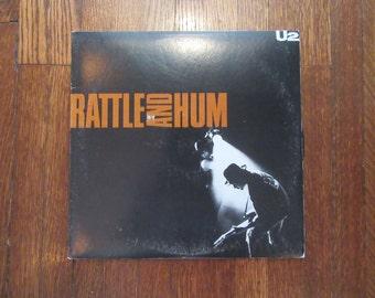 "U2 - ""Rattle and Hum"" Vinyl Record"