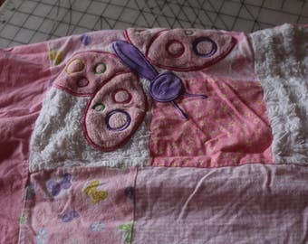 1 Cotton and Chenille Quilt top 1