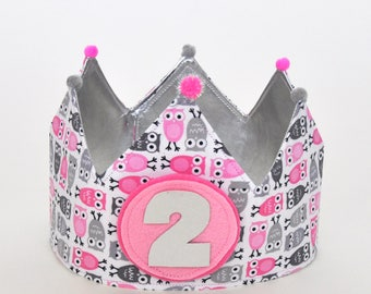 OWL birthday Crown