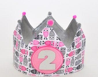 OWL birthday Crown