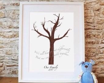 DIY handprint tree (add your handprints at home)