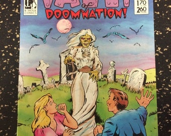 The Vault Of Doomnation! # 1 Comic by B-Movie Comics