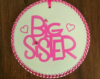 Big sister plaque-big sister gift