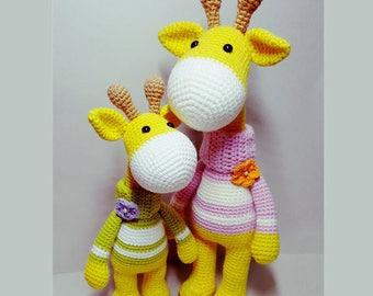 crochet amigurumi pattern giraffe