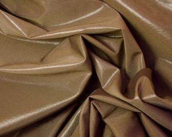 Glossy Brown Fabric