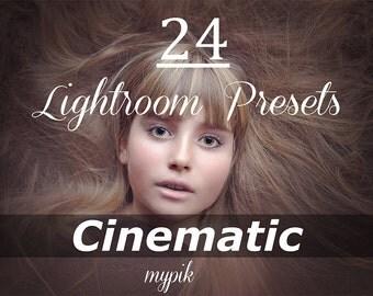 24 Cinematic Lightroom Presets