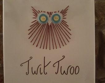 Little Brown Owl Wall Art