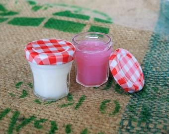 Shower jelly | shower gel in small jar