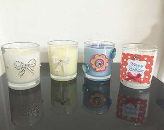 One 9cl Votive Candle In Various Scents