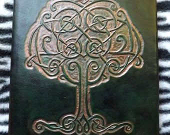 Book leather 'tree of life'