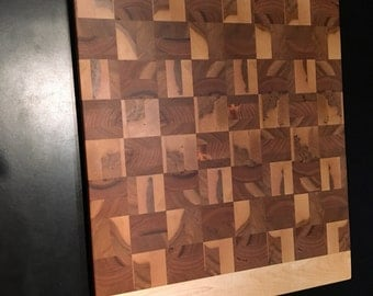 Board chessboard Maple and cherry