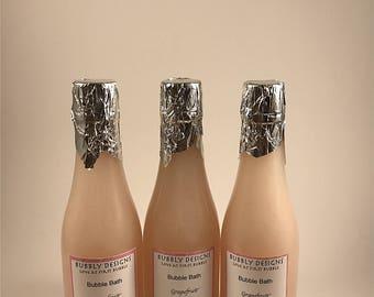 Grapefruit Champagne Bubble Bath | Bubbly Designs