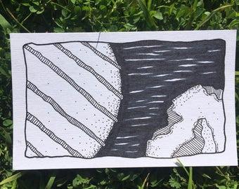 Original - Ink and Paper