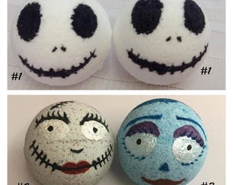 Halloween Bath Bombs. Skeleton Bath Bombs. Zombie Bath Bombs.