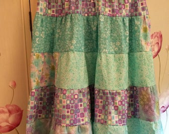Tiered Skirt - Spring Time