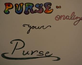 PURSE-onalization!