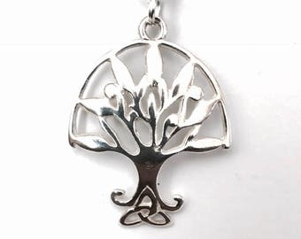 Sterling Silver Tree of Life Necklace and Pendant