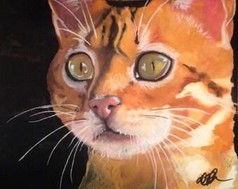 Pet Watercolor Painting