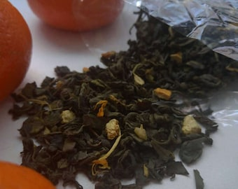 Green tea with Orange 50g