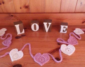 Handmade bunting/garlands