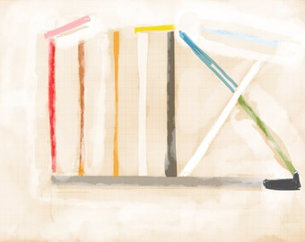 Art Book contemporary geometric digital prints #2