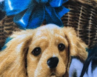 Dog/Puppy No Sew Throw Blanket