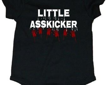 The Walking Dead Little Asskicker Baby Creeper/Bodysuits