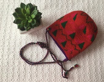 CLEARANCE: Mexican Crossbody Pouch