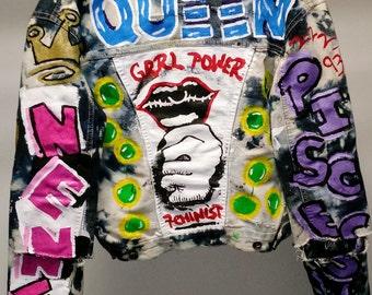 Custom Hand Painted Jacket