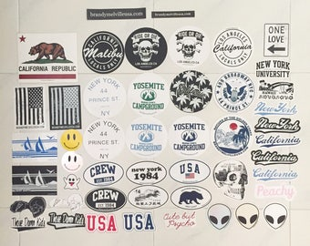 Brandy Melville Laptop Stickers