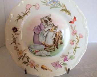 Sweet Royal Albert Tea Time Plate - Beatrix Potter Tom Kitten