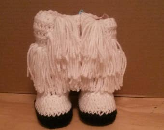 Indian style Crochet Baby Bootied