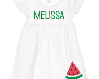 Watermelon Name Dress