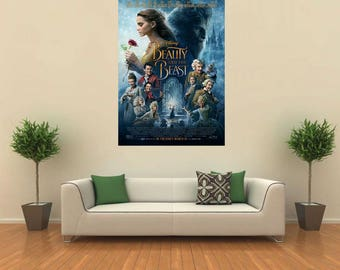 """Movie poster 27"""" x 40""""  Beauty and the Beast (2017)"""