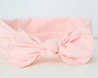 Knot Baby Headband - Newborn Headband - baby headband - Baby Girl Headband - Preemie Headband - Baby Bows - Pink Headband