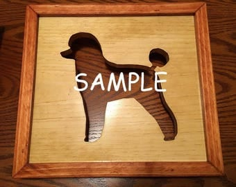 Handmade Animal Silhouette Picture