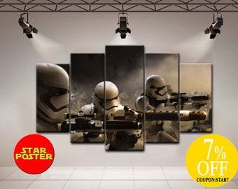 Star Wars Stormtrooper Star wars print Star Wars Stormtrooper art Star wars wall art Stormtrooper print Stormtrooper wall art  Gift for him
